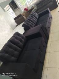 Jogo de sofá 2 e 3 lugares, Apenas, R$ 1,399,99 a vista