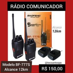 Rádio Comunicador BF-777S 12KM