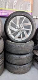 Pneu Bridgestone Ecopia EP 422 Plus 205/55/R17 Semi novo