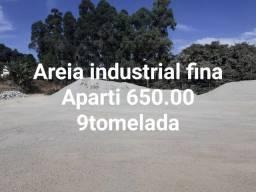 Areia industrial fina escorria