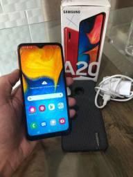 Vendo Samsung A20 32gb em perfeito estado!!!