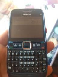 Nokia E63 tudo funcionando preto bateria dura muito já HACKEADO