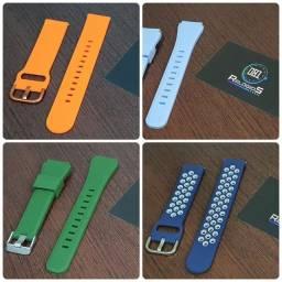 Pulseira 20mm para Smartwatch (Bip, GTS, GTR, P8, P8 Plus, Haylou LS02, P70, P80)