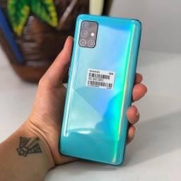 Samsung A51 azul seminovo