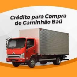 Título do anúncio: Caminhão Baú através do Parcelamento!!