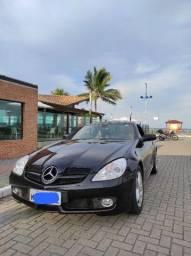 Vendo Mercedes conversível SLK 200, 2009, cor preta