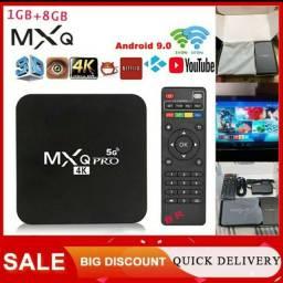 Tv Box Smart MXQ PRO 4K 1GB Ram 8GB Flash Wifi 2.4g e 5.0g