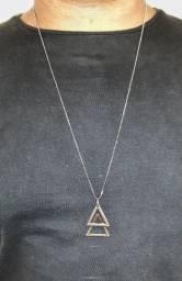 Corrente Ajustável com Triângulo Duplo