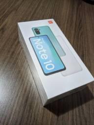 Xiaomi Redmi Note 10 4/64gb - preto - lacrado