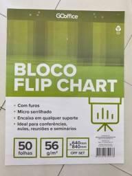 Vendo 15 blocos flip chart