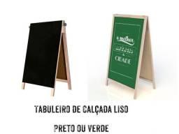 TABULEIRO DE CALÇADA LISO ( PRETO OU VERDE)