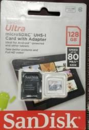 Cartão De memória San Disk Ultra 128 GB