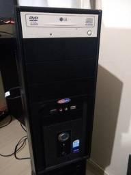 Vendo Computador Intel Dual Core 2.7ghz 2gb memória 200gb armazenamento Linux