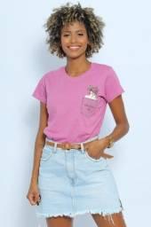 T-shirt Cor Lavanda