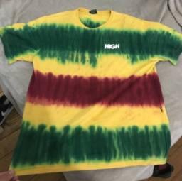 Camiseta high tie dye