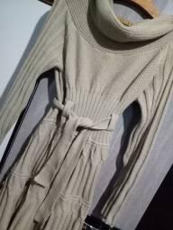 Vestido, lã veste súber bem , usado poucas vezes