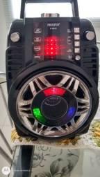 Prosper P-8913 Microfone/luz/USB/SD