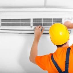 Instalação e higienização de ar condicionado