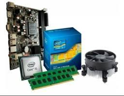 Kit placa mãe + Processador + 8GB memoria ddr3 i5