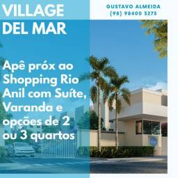 [67] Village del Mar - Aptos na planta 2 ou 3 Qtos!!!