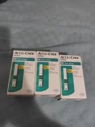 Tiras de glicemia ACCU-CHECK Active