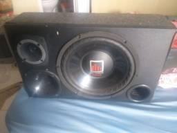 Caixa trio semi nova,Amplificador  taramps ts 400x4 /2 OHMS