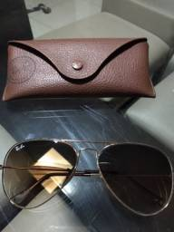 Óculos Rayban aviador feminino