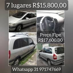 zafira 7 lugares R$15.800,00 urgente