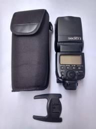 Flash Canon Speedlite 580ex Il + Estojo + Sapata - Usado
