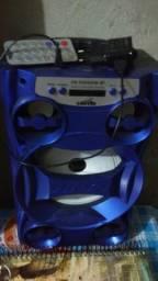 Vendo caixa de som azul