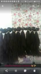 Vendo cabelo humano já telado de 55cm cada 100g R$480 75cm cada 100g R$550