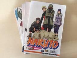 Mangás Naruto em excelente estado
