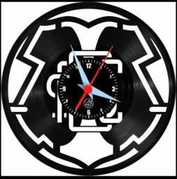 Relógio de Vinil - Santa Cruz