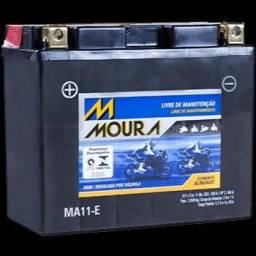 Bateria de moto Yamaha XJ6 Moura Ma11-e. Entregamos em domicílio