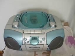 Radio Cd Tape Deck Não Tem Usb