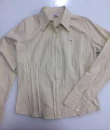 Camisa Feminina Tam P Lacoste