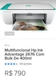 Impressora HP 2676 semi nova com nota e garantia