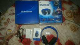 PlayStation Gold Wireless Stereo Headset Black