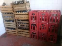 Cascos garrafas de litrão antártica e coca cola 1250ml garrafas de vidro