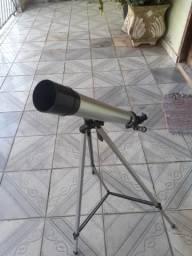 Telescópio com varias lentes. Novo
