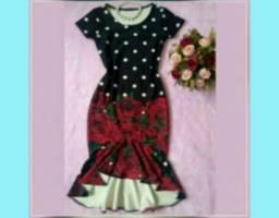 Vestidos midi e outros modelos