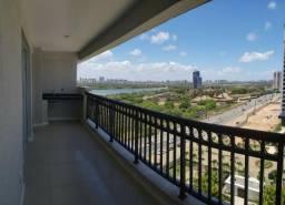 Apartamento Condomínio Portamaris em Ponta Negra com 3 quartos