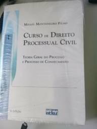 Livro de Direito, Curso de Direito Processual Civil. Semi-novo.Itajai