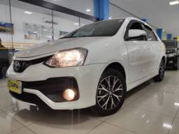 Etios sedan 1.5 aut platinum top 2017 branco