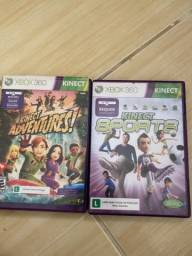 Jogos de aventura/ esportes xbox 360 original
