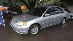 Honda Civic 2002; Automática; Gasolina; Raridade em ótimo estado; Tudo funcionando