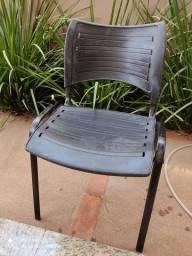 Cadeira fixa escritório
