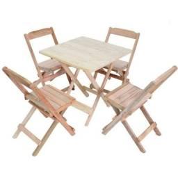 2 Conjuntos de mesa com 4 cadeiras