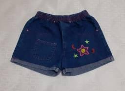 Short jeans M infantil