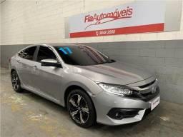 Honda Civic 1.5 2017 Turbo CVT Touring Completo Automatico \ Financio sem Entrada